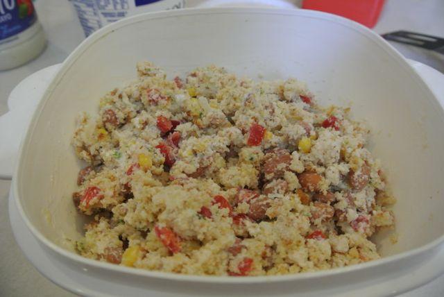 Cornbread Salad | Loree the Domestic Diva