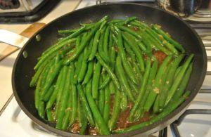 Soy Glazed Green Beans