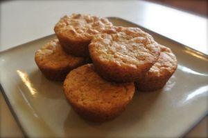 Apple Peach Muffins