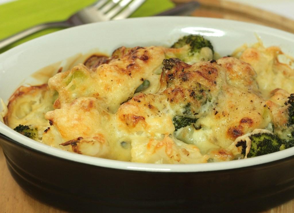 Broccoli Cauliflower Gratin vegetable