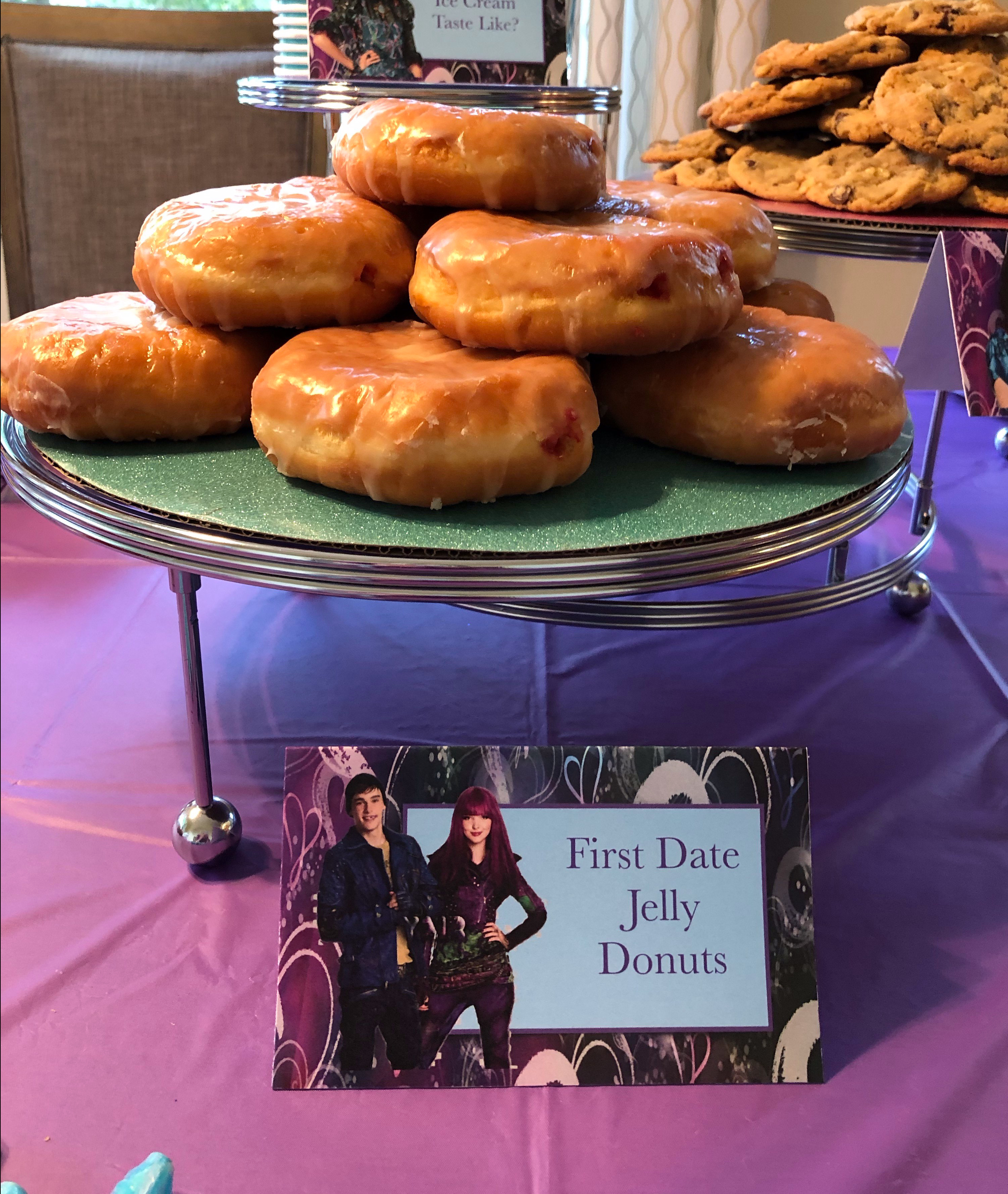 Descendants Party Food based on a scene from the movie.