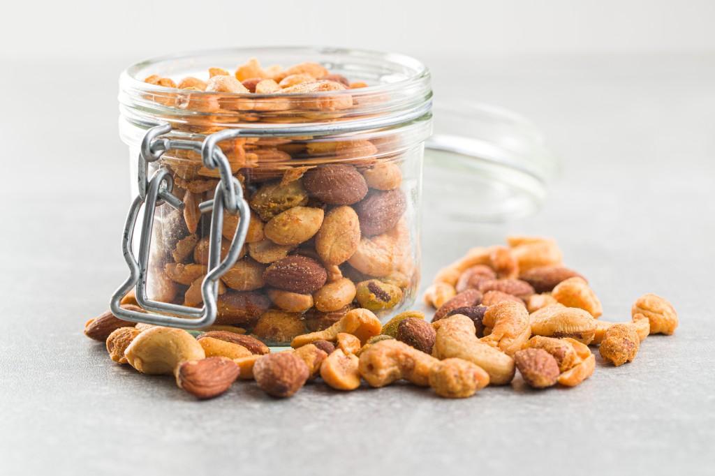 Cajun Spiced Nuts