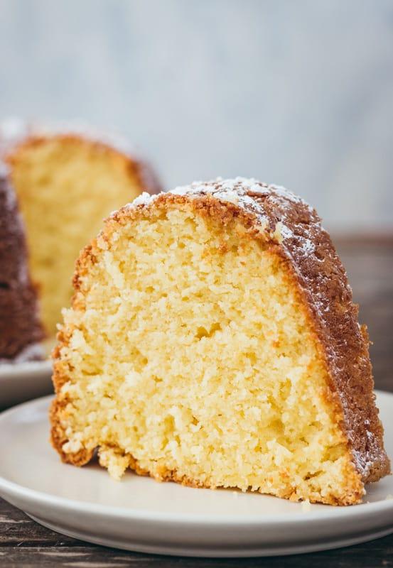 Almond Cream Cheese Bundt Cake